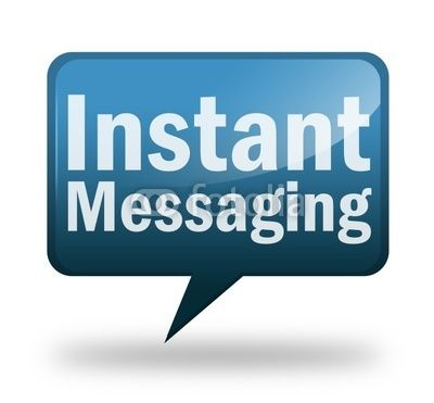 Instant messaging and online