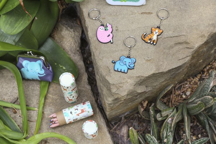 Roztomilé maličkosti Zooniverse - #klíčenka #tužka #peněženka #accessories #zooniverse #giftideas