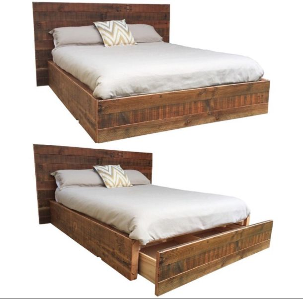 2eight3- 'The Valley' Queen Bed complete with inbuilt drawer.www.2eight3.com.au