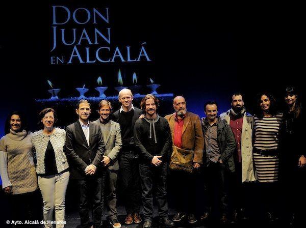 Javier Collado y Raquel Nogueira serán los actores de la XXXII edición de Don Juan en Alcalá