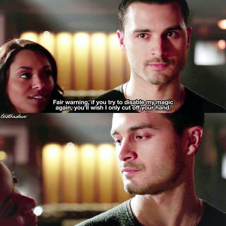 """""""[7x15 I would for you] Bonnie threatening Enzo I love their chemistry ⠀ Do you ship Bonenzo? ⠀ My edit give credit…"""""""