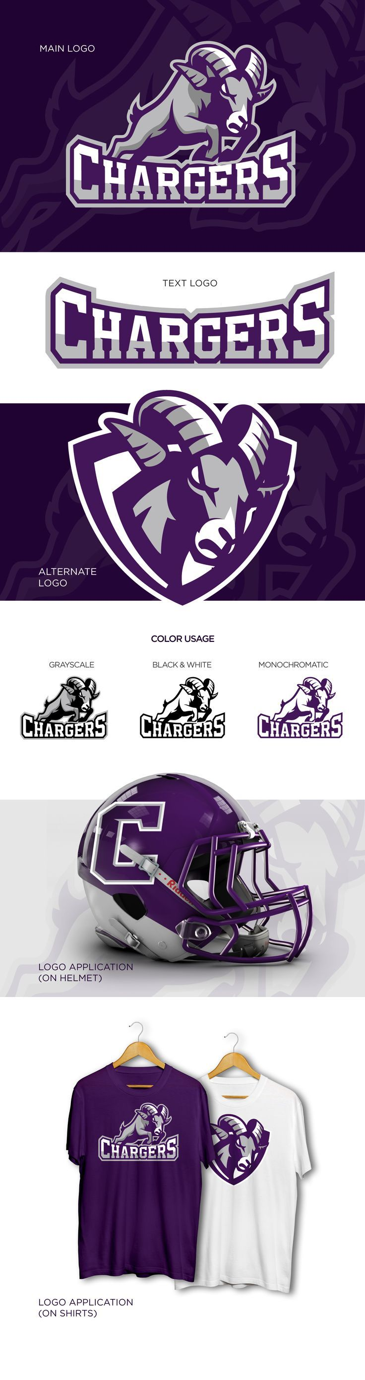 Chargers Sport Logo on Behance