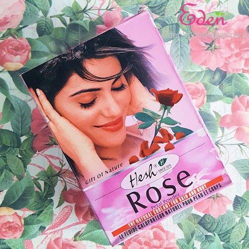 Polvere di petali di rosa della Hesh in vendita su Zenstore. Ottimo profumo - Spignatto - ricette cosmetici fai da te ecobio