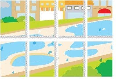 여름 풍경을 우리반 교실 환경판에 담아보세요! 우리 반 환경판을 여름으로 꾸며볼까요?프린트로 간단하게~...