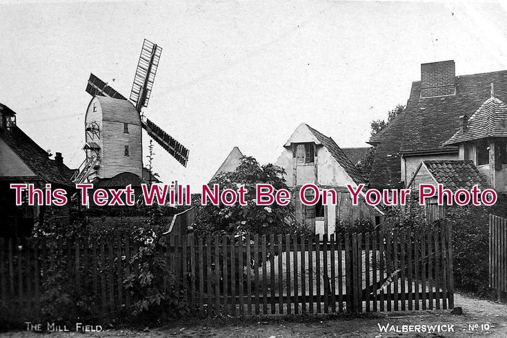 SF 36 - Windmill & Mill Field, Walberswick, Southwold, Suffolk c1916 - 6x4 Photo | eBay