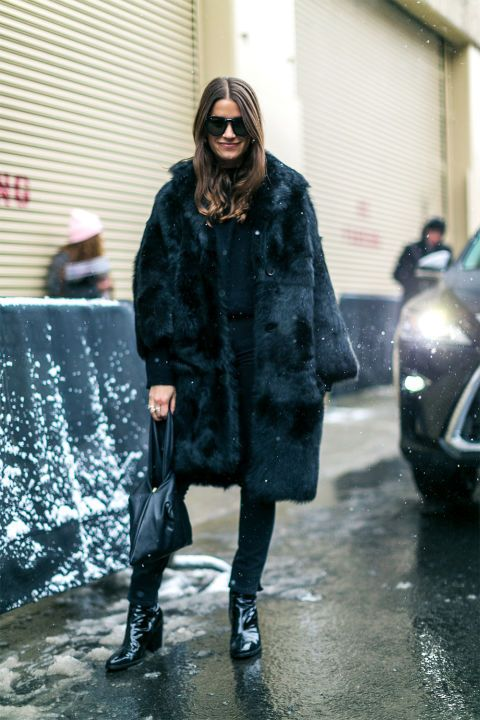 Winter outfit ideas to copy from the best street style at New York Fashion Week: