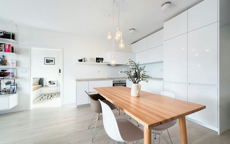 Interior design with Scandinavian elements andacollection ofpopart_ realization of interior