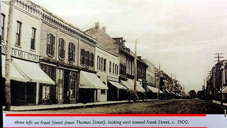Front St looking east c.1900