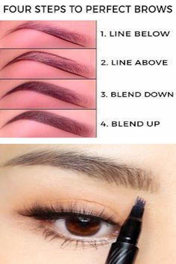 Eyebrow Shadow Ibrow Threading Guide To Perfect Eyebrows Makeup Blending Eyebrow Shadow Makeup Brush Set