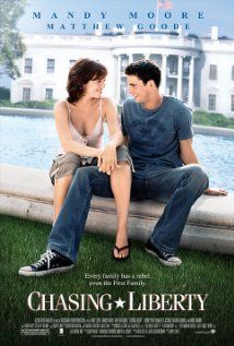 Chasing Liberty (2004) starring Mandy Moore, Matthew Goode. Watched March 2012, dvd.
