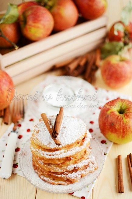 Jabłka w cieście