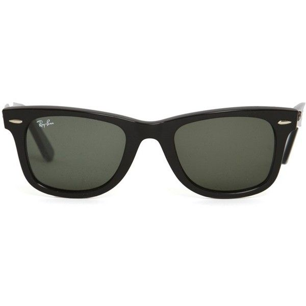 Ray-Ban Wayfarer Sunglasses. Then you get your prescription in them so you dont wear doofy sunglasses!