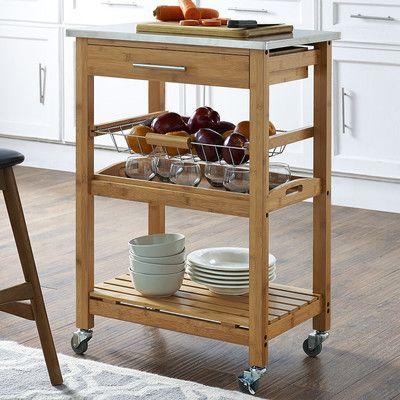 small kitchen carts oak best 25 stainless steel kitchen cart ideas on pinterest