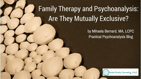 Family Therapy and Psychoanalysis: Are they Mutually Exclusive? - As a child and adolescent psychotherapist, a big part of my work involves working with families.One might think that when it comes to family therapy there is no room for psychoanalysis, the unconscious and the exploration of hidden meaning behind a...