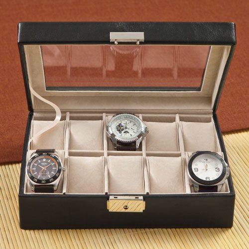 Mens Watch Box_1082 by RCPersonalizedGifts on Etsy, $44.00