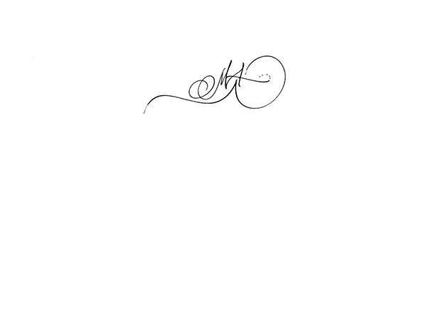 Tatouage calligraphie initiale MA, tatouage initiales poignet, tatouage calligraphie initiale, tatouage calligraphie poignet initiales, calligraphi\u2026