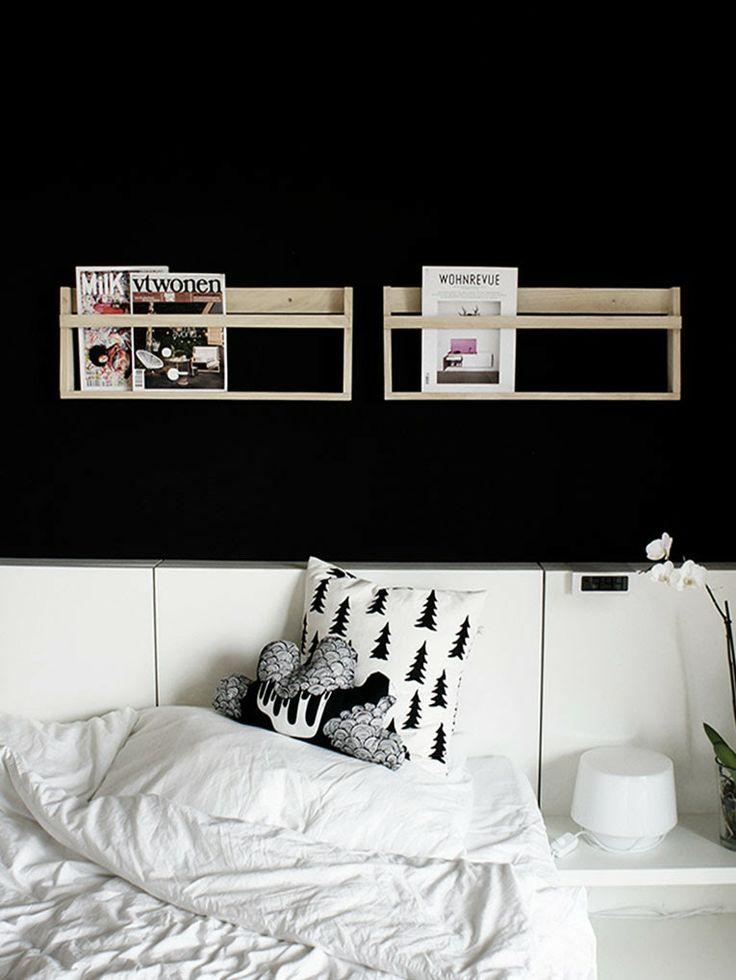 Les 17 meilleures images concernant porte revue sur for Meuble au dessus du lit