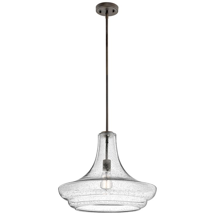 Kichler Everly 1 Light Old Bronze (42329OZCS) | Pendant Lighting