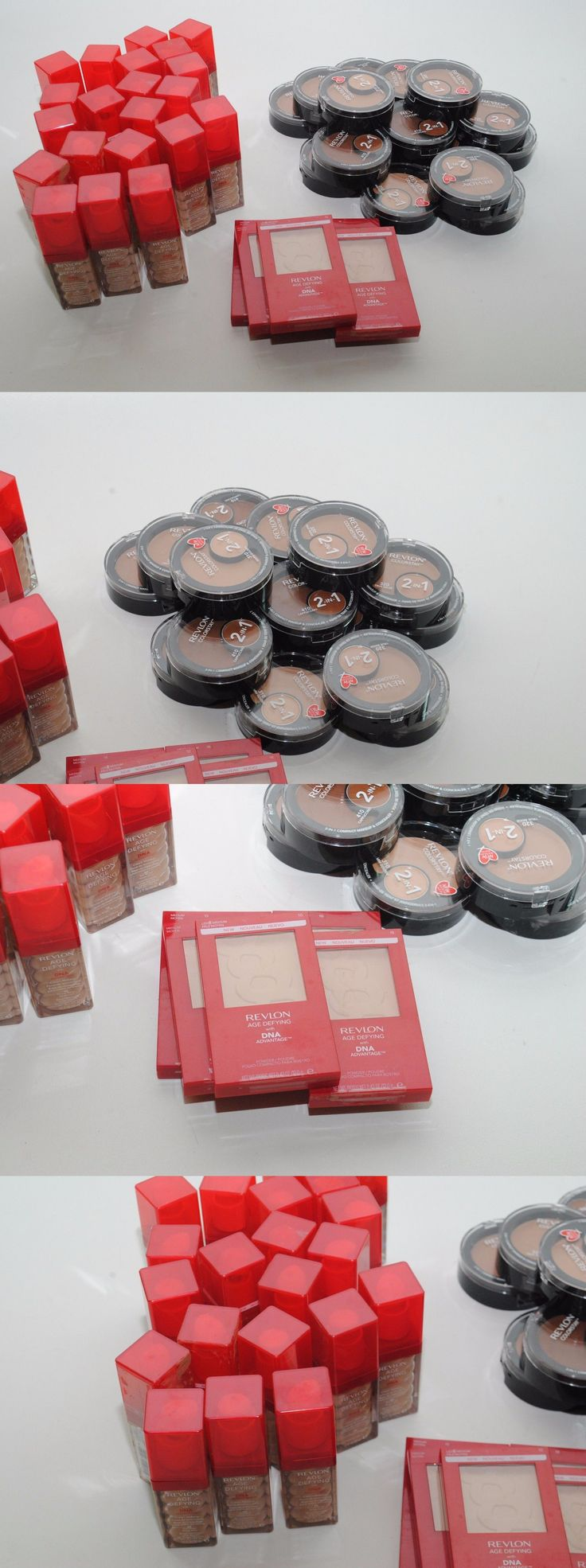 wholesale Makeup: 43X Wholesale Lot Revlon Age Defying Cream Makeup + Powder + Colorstay 2-In-1 -> BUY IT NOW ONLY: $107.99 on eBay!
