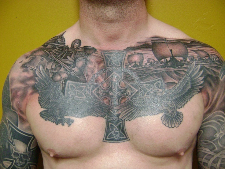 17 best images about cool tattoos on pinterest us flags for Sweet chest tattoos
