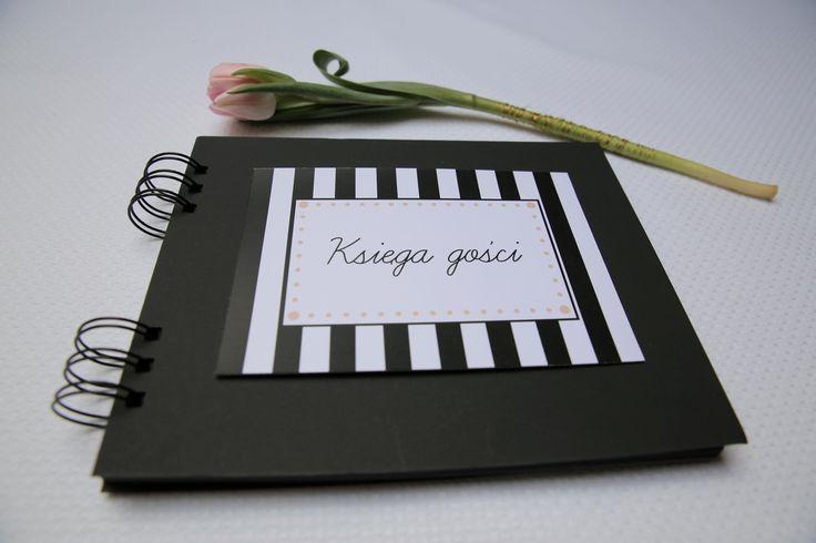 Kolekcja ślubnych zaproszeń black&white