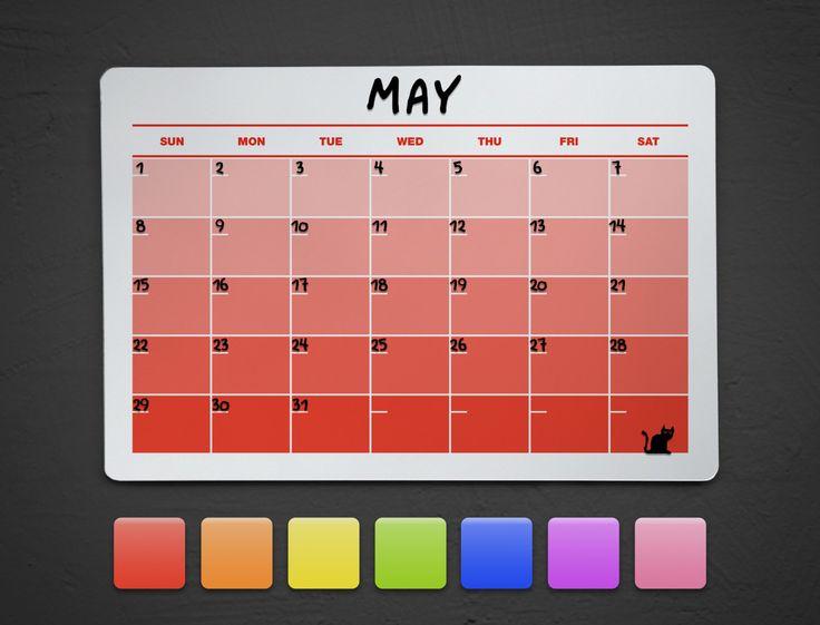 Red Dry Erase Acrylic Calendar - Acrylic Wall Calendar - Fridge Dry Erase Calendar - Dry Erase Wall Calendar - Colored Wall Calendar by BeyondAcrylic on Etsy https://www.etsy.com/listing/221135360/red-dry-erase-acrylic-calendar-acrylic
