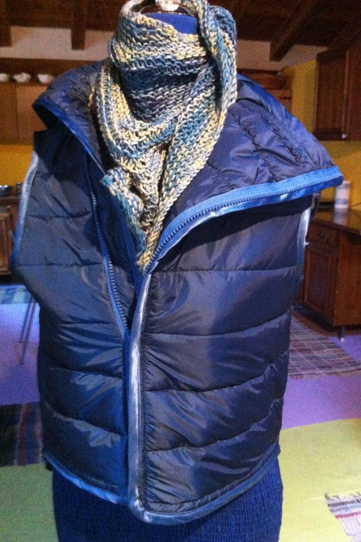Gilet Imbottito by SilverWoolBoutique on Etsy