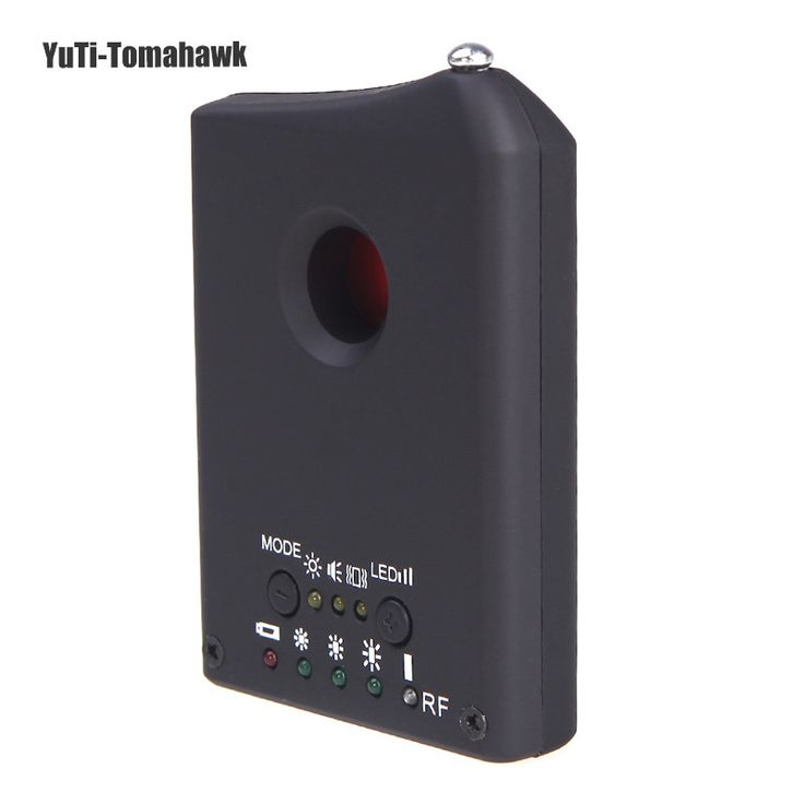 Anti Spy Detector LDRF-DT1 Camera Hidden GSM Audio Bug Finder GPS RF Tracker Sensors Anti Spy Detector