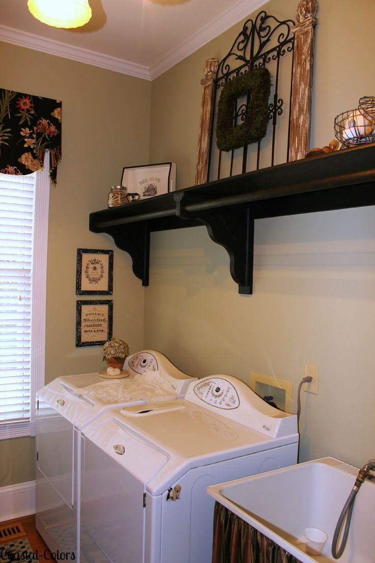 Coastal-Colors- Updated Laundry Room