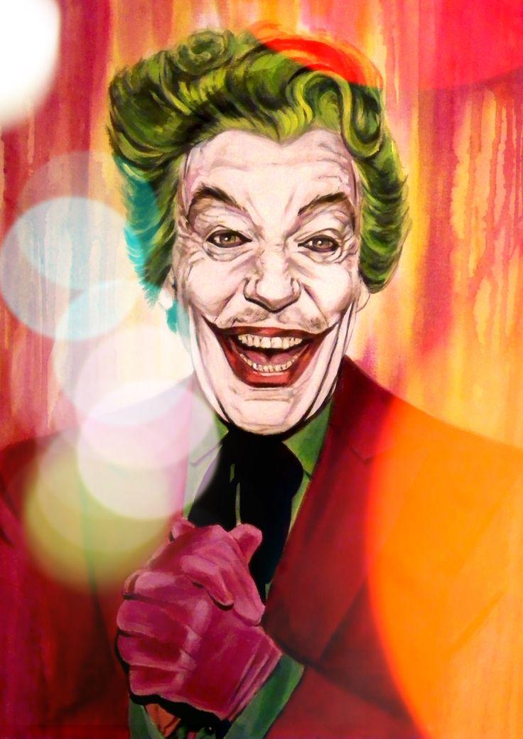 Cesar Romero As The Joker From The Cult 60s Tv Show
