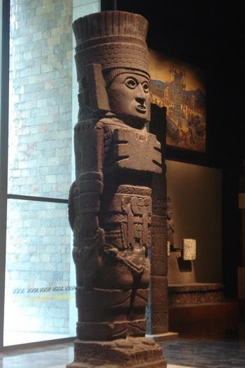Atlante  Museo de Antropologia e Historia Mexico