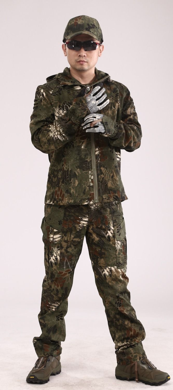Encontrar Más Chaquetas Información acerca de Entusiastas militares exterior camuflaje python sedales camo especiales exterior uniforme