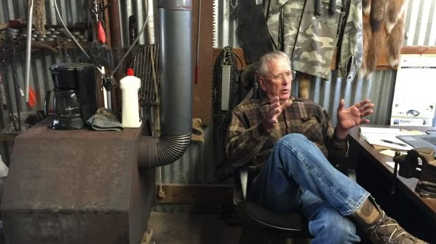 """Vietnam vet Mark Crismon owns land in Oklahoma that contains minerals worth millions - but he has chased away the oilmen that offered him money. Instead he is helping Oklahoma State University with a seismic study tracking the """"swarm"""" of earthquakes since fracking started."""