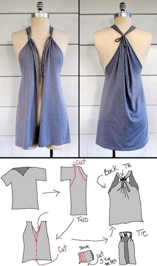 T-shirt kimono