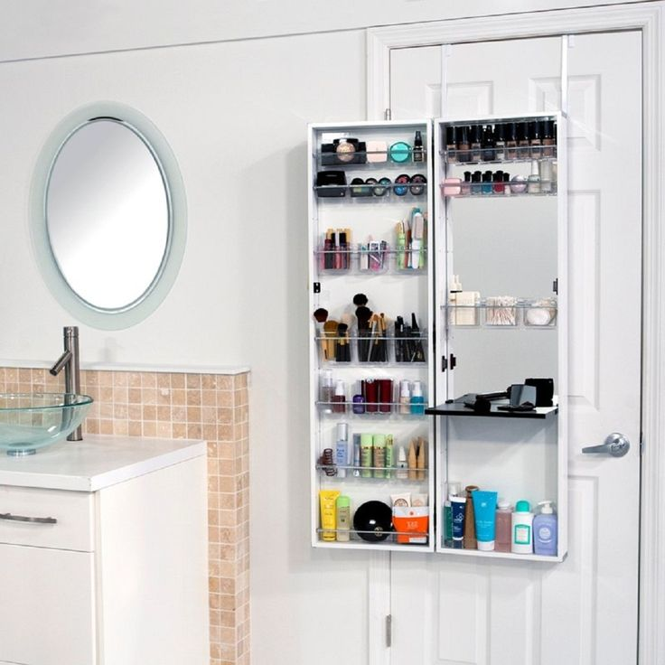 This Over The Door Medicine Cabinet Stores All Of Your Bathroom Necessities  Without Eating Up Precious Counter Space.