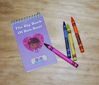 DIY Doc McStuffins Big Book of Boo Boos {Free Printable}