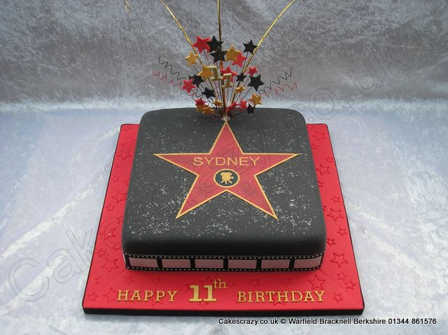 Hollywood Walk of Fame, Los Angeles, CA, USA groom's cake idea