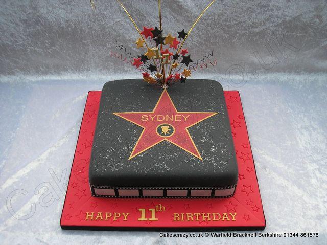 Hollywood Walk of Fame, Los Angeles, CA, USA groom's cake idea