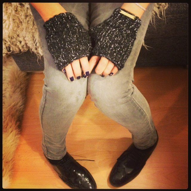 Mitaines Stella Pardo - Hand knitted mittens