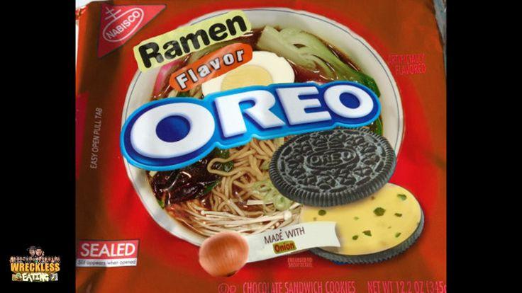 Will It Cookie? - Ramen Flavor Oreo - YouTube