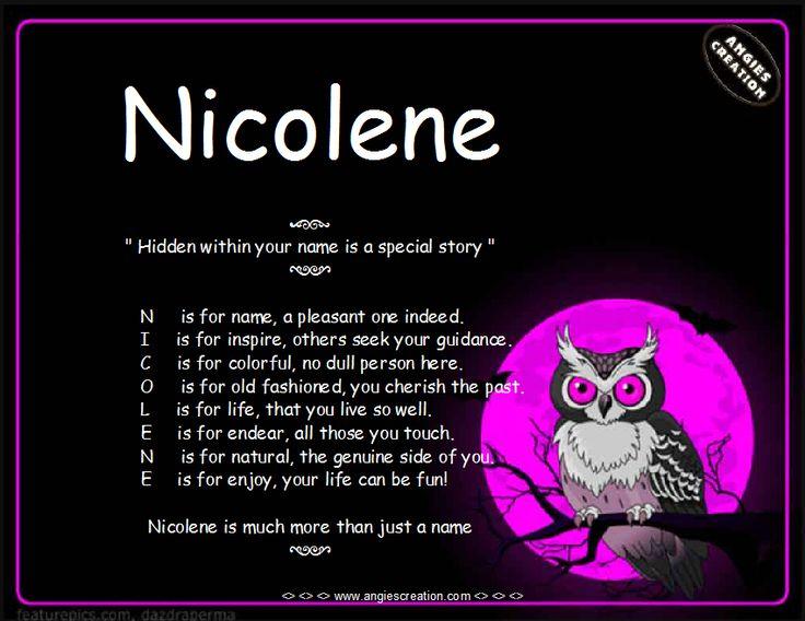 Nicolene
