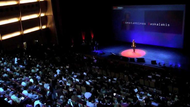 TEDxAthens 2011 - Konstantinos Daskalakis - Searching for Equilibrium - YouTube
