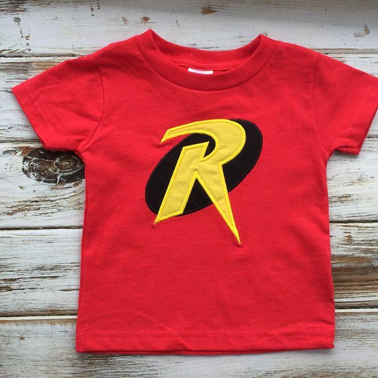 Robbin shirt, Batman and Robin shirt, boys birthday shirt, Red Robbin shirt by BabyBirdsCloset on Etsy https://www.etsy.com/listing/229438620/robbin-shirt-batman-and-robin-shirt-boys
