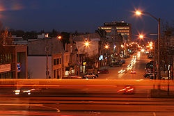 Downtown Guelph at night :)