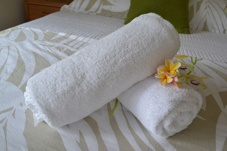 All towels and linen is supplied