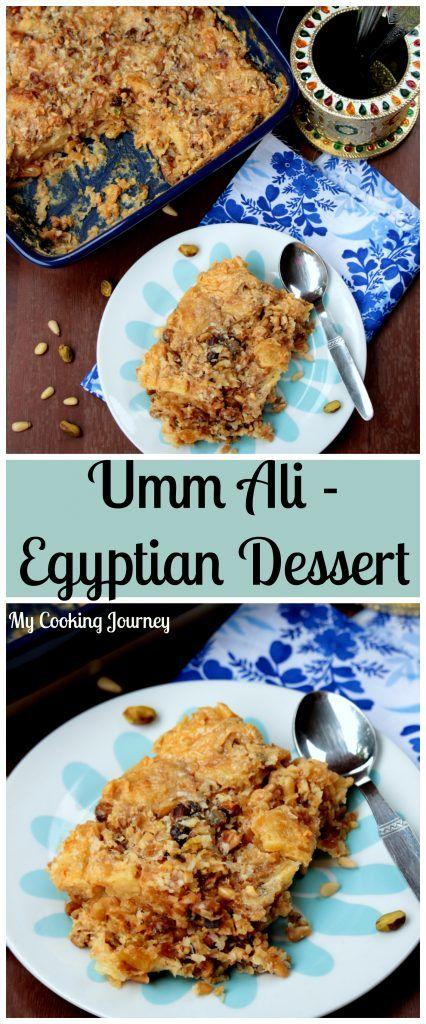 U for Umm Ali   Egyptian Dessert