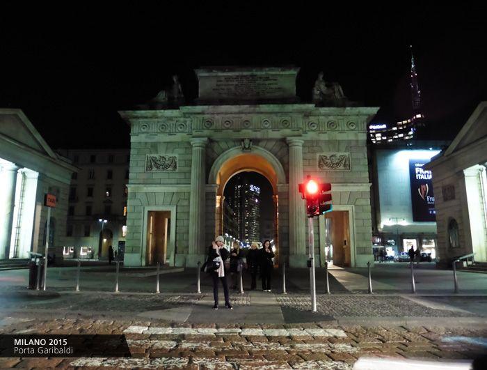 Porta Garibaldi #Milano #Italy / Giovanni Longo #art #travel https://www.facebook.com/giovannilongo.art