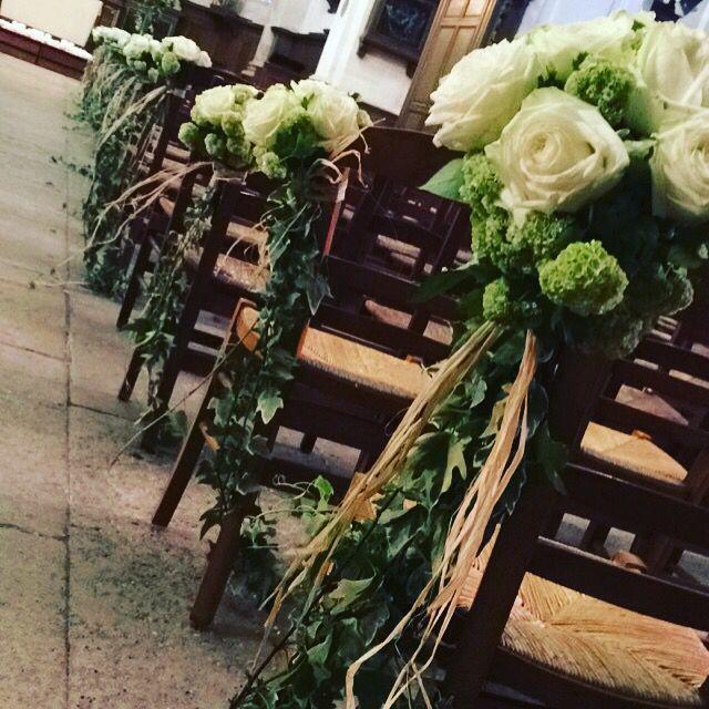 Bouquet de banc, mariage #audacefloralechantilly