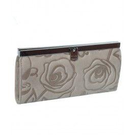 Ureaza-i bogatii prietenei tale cu un portofel plic Romance, din piele naturala, un cadou practic si feminin de Sf. Ana