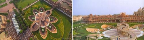 Landscape Architecture LANIndia Swaminarayan Akshardham Temple - Temple landscape architecture